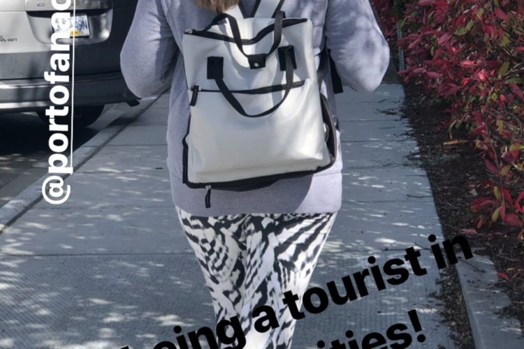 Tourist in Anacortes - Instagram Story